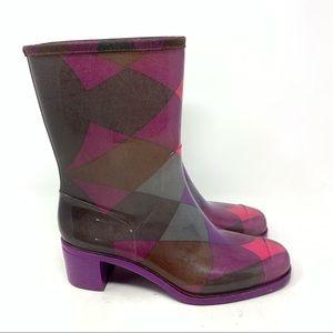 Emilio Pucci rain boots
